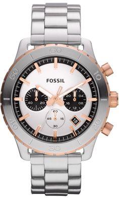 Fossil CH2815 Keaton Stainless Steel Watch < $94.88 > Fossil Watch Men