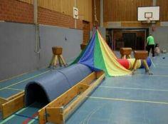 Kruiproute met vanken, matten en de parachute