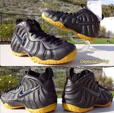 new product dd710 96962 Covered in a Matte Black upper and a glossy Swoosh, the Nike Foamposite Pro  Final Adoption sits atop a Gum sole.