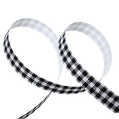 """5/8"""" Black Gingham Checkered Sticky Fabric Tape, adhesive on back, 4 meter roll  adh0010 by SmartParts on Etsy"""