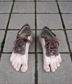 Walk barefoot without callous :)
