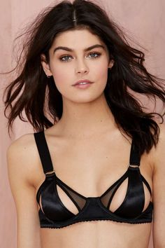 Nasty Gal License to Thrill Cutout Bra | Shop Lingerie at Nasty Gal