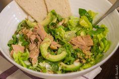 salata cu ton Avocado, Lettuce, Guacamole, Tacos, Mexican, Vegetables, Ethnic Recipes, Gluten, Food