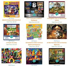 30% Off All Buffalo Games Jigsaw Puzzles http://www.puzzlewarehouse.com/Buffalo-Games_136.html?caid=554