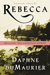 Rebecca, by Daphne du Maurier. Click on the cover to read the review of this title by Lori.