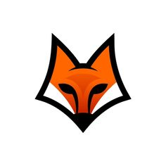 This logo is quite complex yet simple looking it uses pretty basic shapes to form the image of a Fox. the blending of the colours gives it a very like look to it. This looks like it could be a modern day american football logo. Geometric Fox, Geometric Nature, Renard Logo, Fuchs Silhouette, Whatsapp Png, Icon Design, Logo Design, Snapchat Logo, Logo Luxury