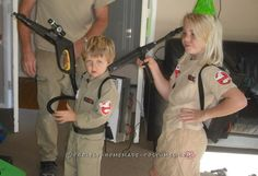 Ghostbuster costume