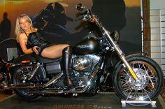 Harley hot woman