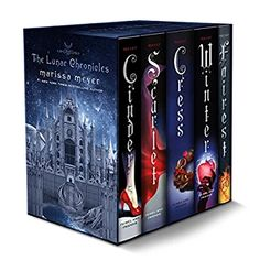 Buy The Lunar Chronicles Boxed Set: Cinder, Scarlet, Cress, Fairest, Winter Book Online at Low Prices in India | The Lunar Chronicles Boxed Set: Cinder, Scarlet, Cress, Fairest, Winter Reviews & Ratings - Amazon.in