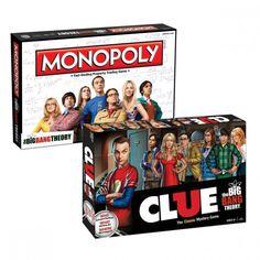 The Big Bang Theory Monopoly/Clue Bundle