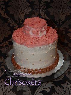 @thalia elmakli #Happy #Birthday #Thalia_Elmakli #Rose #Chocolate #Biscuit #Chocolate_cream #Cherrry_cream #Vanilla_cream #Filling #Chocolate_ganache #Decor and #Cherry #Cream #Ruffles #Rose #Topping #SugarPearls