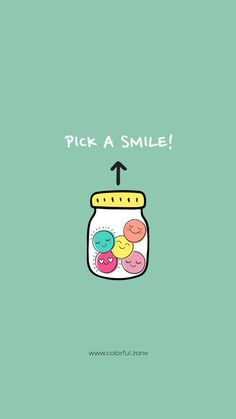 Pick a smile :) <br> Colorful Zone is a happiness factory manufacturing products and services that bring a sustainable good feeling to people's lifestyle Positive Thoughts, Positive Vibes, Positive Quotes, Motivational Quotes, Inspirational Quotes, Pretty Quotes, Cute Quotes, Happy Quotes, Good Vibes Quotes