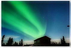 Northern Lights - Fairbanks Alaska Photograph