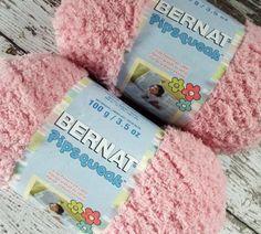 NEW Lot 2 Bernat Pipsqueak Baby #Yarn Tickle Me Pink #JustChatTeam