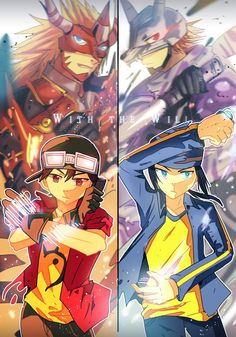 Takuya Kanbara and Kouji Minamoto Digimon Frontier, Anime Nerd, Manga Anime, Digimon Wallpaper, Digimon Tamers, Digimon Digital Monsters, Digimon Adventure Tri, Character Wallpaper, Anime Artwork