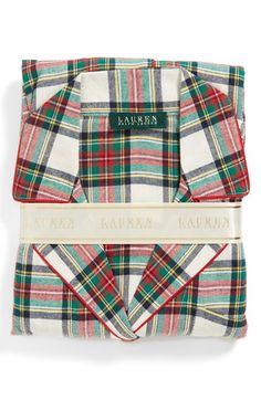 Plaid pjs | ralph lauren