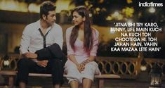 Ranbir Kapoor and Deepika Padukone bollywood indian movie couple cute Bollywood Quotes, Bollywood Couples, Bollywood Stars, Ranbir Kapoor, Deepika Ranveer, Shraddha Kapoor, Shahrukh Khan, Priyanka Chopra, Indian Celebrities