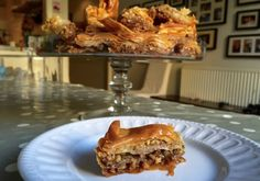 Baklava is a huge crowd pleaser and is very simple to make. Traditionally enjoyed with coffee in Greece, or with wine in South London...