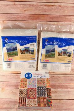 CAN/USA until April 5, 2015 - Quilt Batting Bundle
