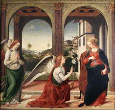 Biagio d´Antonio Annunciazione Roma, Accademia Nazionale di San Luca.