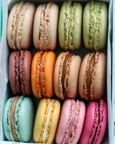 Items similar to Ladurée Macarons Fine Art Photography Print on Etsy Kreative Desserts, Think Food, Cafe Food, Aesthetic Food, Food Cravings, Food Videos, Sweet Treats, Food Porn, Dessert Recipes