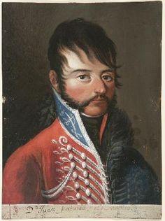 Húsares de Iberia. Coronel Juan Palarea y Blances. Alias El médico