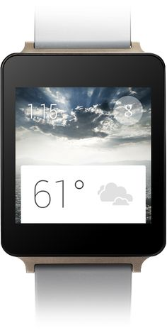 LG G Watch   powered by android wear