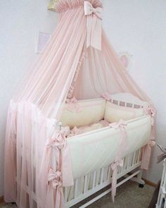 Inspiring methods that we are fond of! Baby Bedroom, Baby Boy Rooms, Baby Room Decor, Baby Crib Designs, Baby Room Design, Baby Bassinet, Baby Cribs, Creative Kids Rooms, Baby Canopy