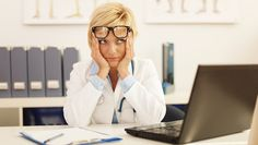 These Common Content Marketing Mistakes Could Be Hurting Your Medical Practice's Online Visibility Mentally Exhausted, American Medical Association, Coping With Stress, Medical News, Winning The Lottery, Good Doctor, Nurse Practitioner, Content Marketing, Health Care