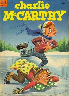 Charlie McCarthy comic #527