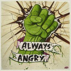 Always Angry by nrrdcakke
