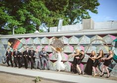 Fun shots of the wedding party are a must-have! | From the Hip Photo | #colorado #denver #weddingphotos