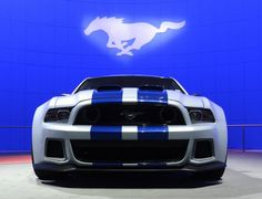 """Ford Mustang featured in the film """"Need for Speed"""""""