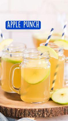 Vegan Kitchen, Kitchen Recipes, Smoothie Drinks, Smoothie Recipes, Smoothies, Apple Recipes, Fall Recipes, Alcoholic Punch Recipes, Drink Recipes