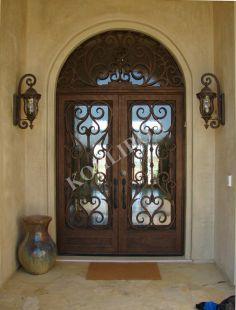 Kohliron wrought iron doors. www.kohliron.com