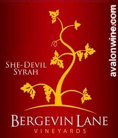 She Devil Syrah from Washington- Love the label