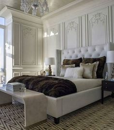 Masculine Guest Room