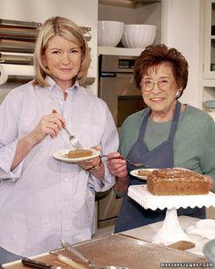 Spice Cake with Mrs. Kostyra (Martha's Mom) - Martha Stewart Recipes