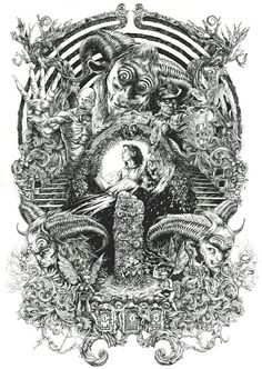 'Pan's Labyrinth' by DZO