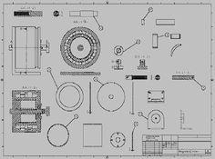 Konstrukce magnetického motoru