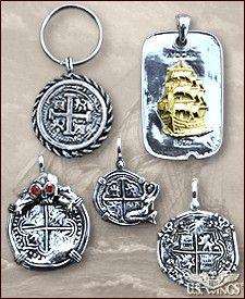 Sample of the Atocha Spanish ship treasure