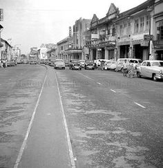 ORCHARD ROAD, SINGAPORE - 1958