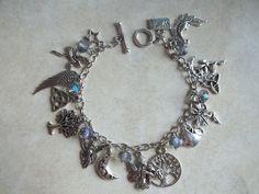 Fae Magick Charm Bracelet by CellDara on Etsy, $25.00