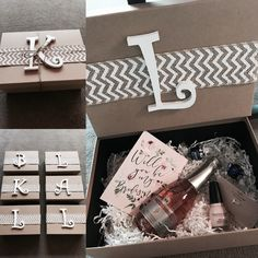 """Will you be my Bridesmaid?"" Box idea #bridesmaid #gift #wedding"