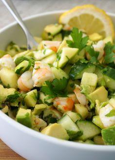 Shrimp Ceviche Salad | Autoimmune Paleo