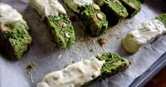 Great recipe for Matcha Green Tea and White Chocolate Biscotti. Here is my Japanese biscotti! Ta-da! Have a tea break with these!