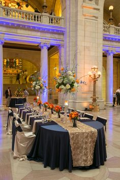 Wedding Reception at Cleveland Old Courthouse -