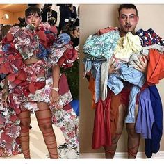 ����������������!!! Did this guy nail Rihanna's 2017 #MetGala look or what? Well, in 'Bad Gal' Ri-Ri's defense, it is an #art event. Oh, well, this is still funny as hell, though (even in all its corniness)! LMAO ...���������� --------- #metgala2017 #Rihanna #Rihannanavy #badgalriri #celebritynews #litviral #celebritygossip #gossip #fashion #culture #abstract #lmao #funny #humor #lol #comedy #style #fashionpolice #entertainment #celebrity #singer #music #popculture…