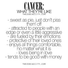 Cancer Zodiac Sign: What They're Like...