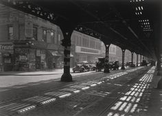 Todd Webb. 3rd Ave. New York. 1946.